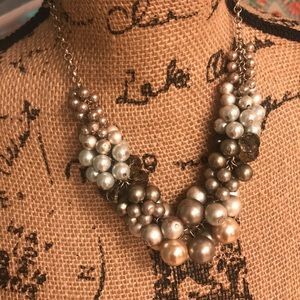 Tan Baubles Necklace